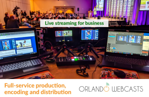 Orlando Webcasts Live Streaming