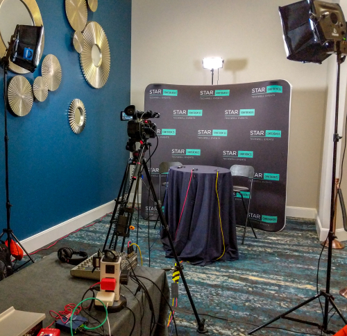 Interview set at Orlando convention